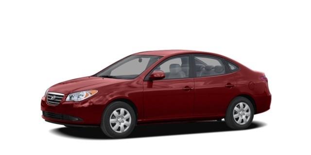 2007 Hyundai Elantra Redfire Pearl Red