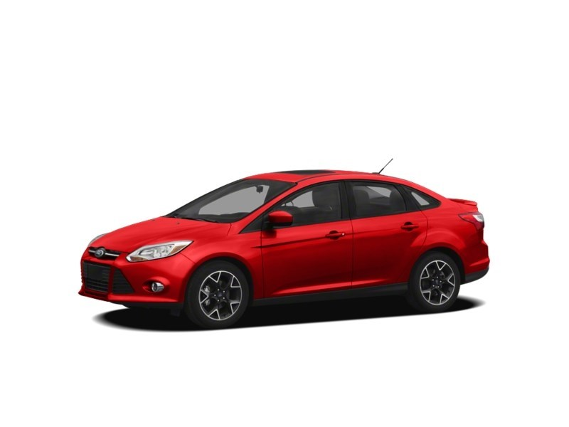 2012 Ford Focus SE MANUAL *** FREE WINTER TIRS & RIMS INC!!! *** Race Red  Shot 9