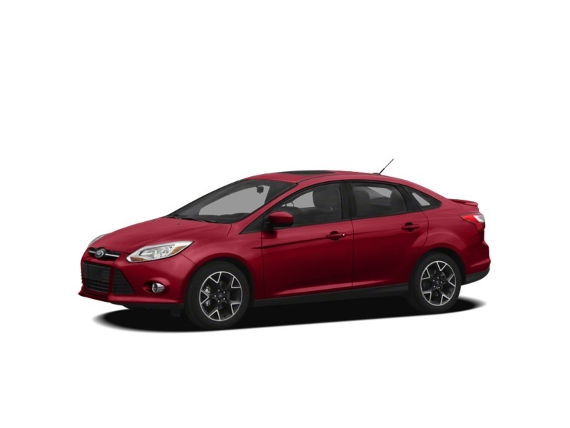 2012 Ford Focus SE MANUAL *** FREE WINTER TIRS & RIMS INC!!! *** Red Candy Tinted Clearcoat  Shot 11