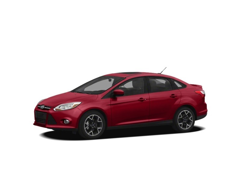 2012 Ford Focus SE MANUAL *** FREE WINTER TIRS & RIMS INC!!! *** Red Candy Metallic Tinted Clearcoat  Shot 15